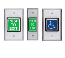 Push to Exit Switches 410 and 420 Series
