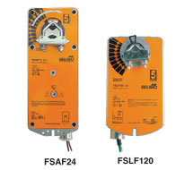 Fire and Smoke Damper Actuators FSLF, FSNF, FSAF, FSAFxA, FSTF Series