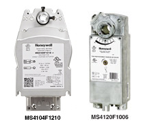 Fire and Smoke Damper Actuators MS4xxx, MS81xx Series