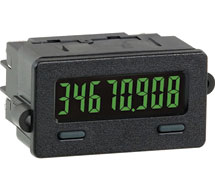 Miniature Electronic 8 Digit Counter/Timer CUB7 Series