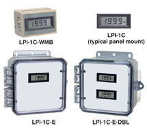3-1/2 Digit LCD Panel Display LPI-1C