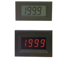 Kele 3-1/2 Digit Small Black/Red Panel Display LPI-5