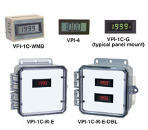 3-1/2 Digit LCD Panel Display VPI Series
