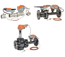 Electronic Pressure Independent Valves EV Series