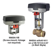 Globe Valve Actuators Forta Series