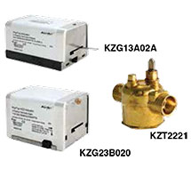 Two-Position Poptop™ Zone Valve KZ Series