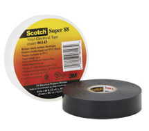 Tapes Super 33 and 88 Black Vinyl Electrical Tape