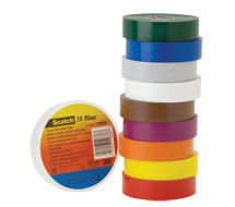 Color-Coding Tapes 35 Vinyl Color-Coding Tapes