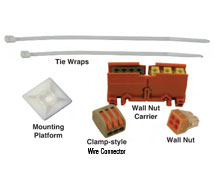 Wire Connectors, Ties, Accessories Wire Connectors, Ties, Accessories