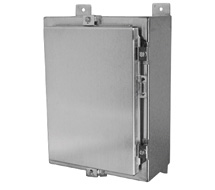 Hoffman NEMA 4X Stainless Steel Enclosures and Panels A-SSLP Series