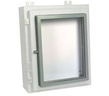 Hoffman Enclosure Accessories Fixed and Hinged Window Kits