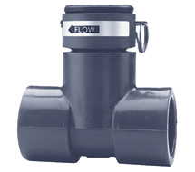 Badger Meter PVC Tee Flow Sensor 228PV Series