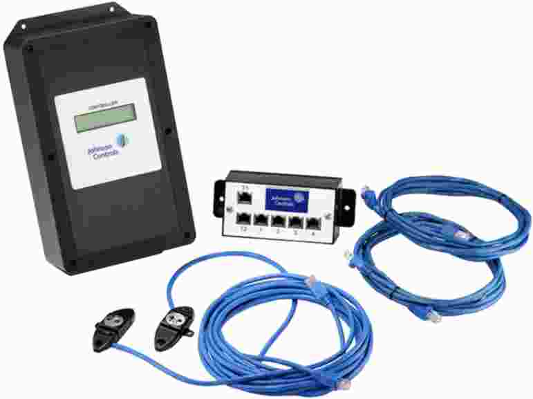 Johnson Controls Thermal Dispersion Fan Inlet Sensor Airflow Measuring Systems RA-1250