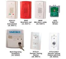 System Sensor D4120 Accessories D4120 Series Remote Accessories