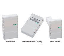 Combination Carbon Monoxide Sensor with CO2, RH, or VOC KCOC Series