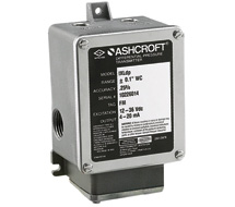 Ashcroft Intrinsically Safe Differential Pressure Transmitter IXLdp
