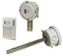 Room, Duct, and OSA 5% Humidity Transmitters A/RH5 Series