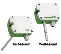 E + E Wall and Duct Mount Humidity and Temperarture Transmitter EE160 Series