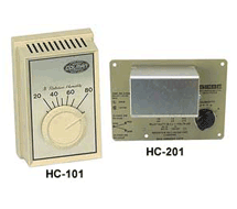 Room and Duct Humidistats HC-101, HC-201
