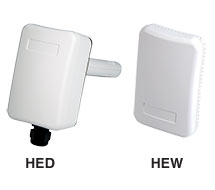 Veris Humidity Transmitter HEW, HED, HD, HO and HW Series