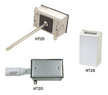 2% Wall, Duct and OSA Humidity Transmitters HT2D, HT2O, HT2S