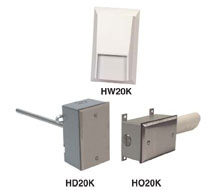2% Wall, Duct and OSA Humidity Transmitters H_20K Series