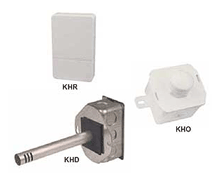 Kele Room, Duct, and OSA 3% Humidity Transmitters KH3 Series