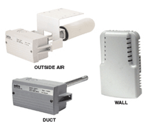 Room, Duct, and OSA 5% Humidity Transmitters SRH15 Series