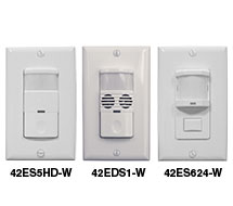 PIR and Dual Technology Occupancy/Vacancy Sensor Switches 42E Series