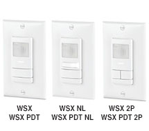 PIR and PDT Wall Switch Sensors WSX Series