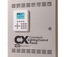 Standalone Programmable Lighting Control Panel CX Series Commercial Lighting Control Panels