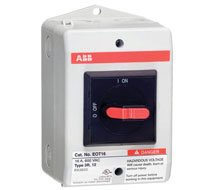 Enclosed Non-Fused Disconnect Switch ABB eOT Series