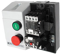 3 Phase and Single Phase Motor Push Button Starters TEC Compact Starters