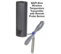 BAPI-Slim - Wireless Temperature Transmitter BA/WT-SL Series