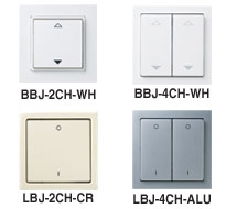 EnOcean Lighting, Blinds and Shutters Switches EasySens Switches