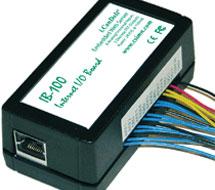 Internet I/O with Embedded Web Server i.Board Series