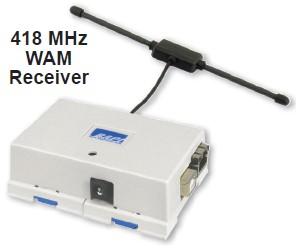 WAM Gateway - Wireless Asset Monitoring Receiver BA/RCV418-WAM Series