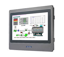 BACnet IP and Modbus Touchscreen Operator Panel WebOP Series