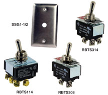 Kele Toggle Switches RBTS Series