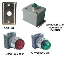 IDEC Pilot Lights APW Series