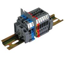 ABB DIN Rail Terminal Blocks (Standard Gray) M4/6, M6/8