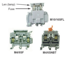 ABB DIN Rail Switch & Fuse Holders M4/6SNBT, M4/8SF, M10/16SFL