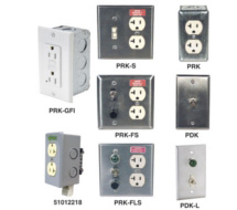 Kele Panel Receptacle & Disconnect Switch Assemblies PDK, PRK
