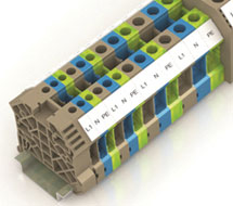 Conta-Clip DIN Rail Terminal Blocks RK Series