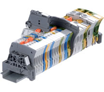 ABB Spring Clamp Series DIN Rail Terminal Blocks ZK4 Series