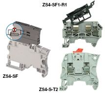 ABB ZS4 Series DIN Rail Disconnect Switch and Fuse Holders ZS4 Series Disconnect Switch and Fuse Holders