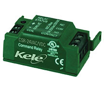 Command Relay for CS or SC Sensors/Switches CSR Series