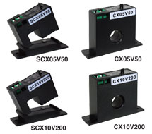 AC Current Transducers with Voltage Output CX, SCX Series (Voltage)