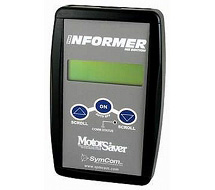 Handheld diagnostic tool for MotorSaver Model 455 INFORMER-MS