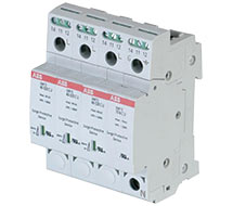 DIN Rail Mount Surge Protection OVR DIN Series